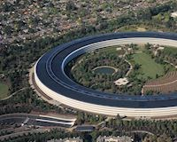 Trụ sở phi thuyền của Apple không nằm trên bề mặt Trái Đất và thách thức mọi cơn địa chấn