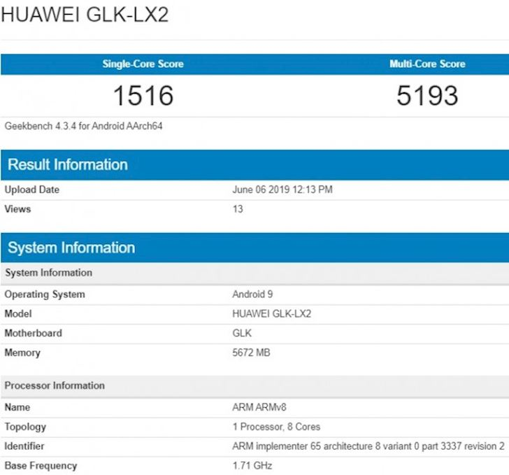 Huawei Nova 5i xuat hien them phien ban moi co the la P20 Lite 2019 1
