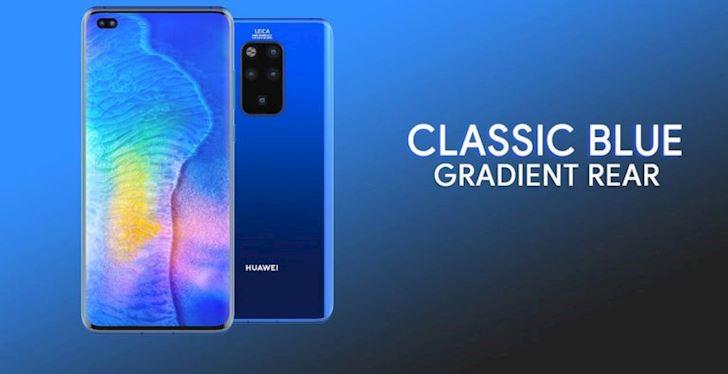 Xuat hien concept dep mat cua Huawei Mate 30 Pro voi kha nang zoom 50X2