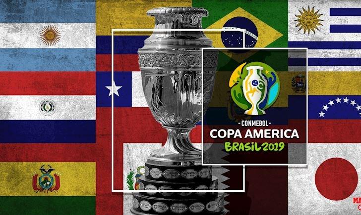Xem Copa America 2019 trực tiếp kênh nào