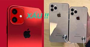 Chưa ra mắt mà ảnh mẫu iPhone 11 2019 đã bị cộng đồng mạng chê tơi tả