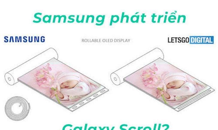 Quên Galaxy Fold đi, Samsung phát triển điện thoại màn hình cuộn