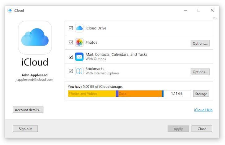 Apple hop tac voi Microsoft tao iCloud  3