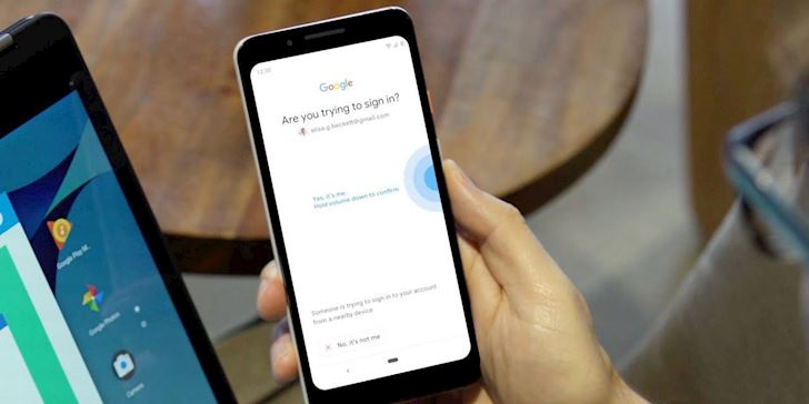 Google cung cap tinh nang cho phep su dung dien thoai Android de xac thuc hai yeu to1