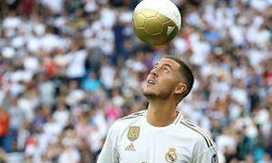 Bóng đá quốc tế ngày 14/6: Hazard chính thức ra mắt Real