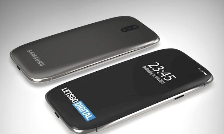 Lộ bằng sáng chế thiết kế Galaxy S11 giống như viên đá dẹp