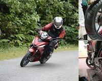 Honda Winner - Lốp zin trơn nhưng có nên thay?
