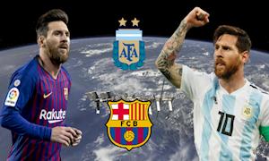 Tại sao Messi độ Barca, không độ Argentina?