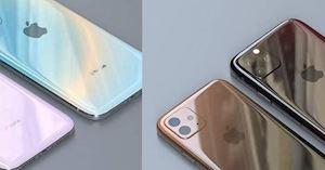 Đây mới chính là iPhone 11 camera vuông nhưng không thô, mặt lưng màu gradient tinh tế