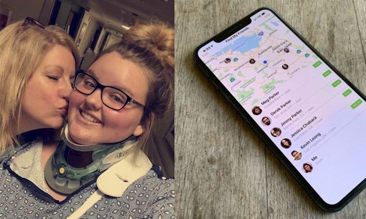 Tính năng Find My Friends trên iPhone cứu thiếu nữ 17 tuổi một cách ngoạn mục
