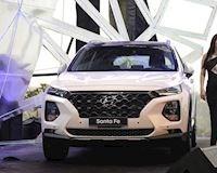 Bảng giá xe Hyundai Santa Fe mới nhất tháng 9/2019