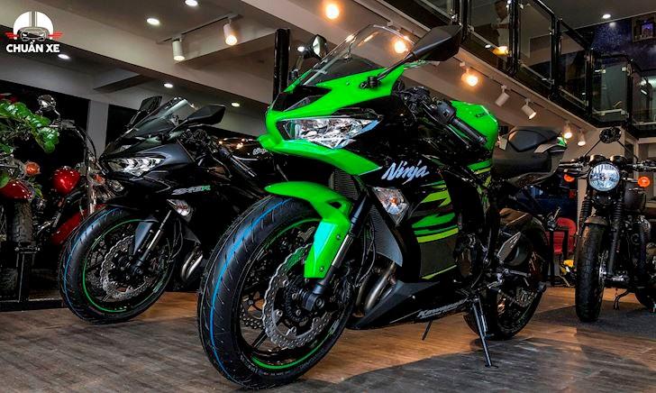 Biker Việt Nam bất ngờ khi Kawasaki ZX-6R 2019 xuất hiện