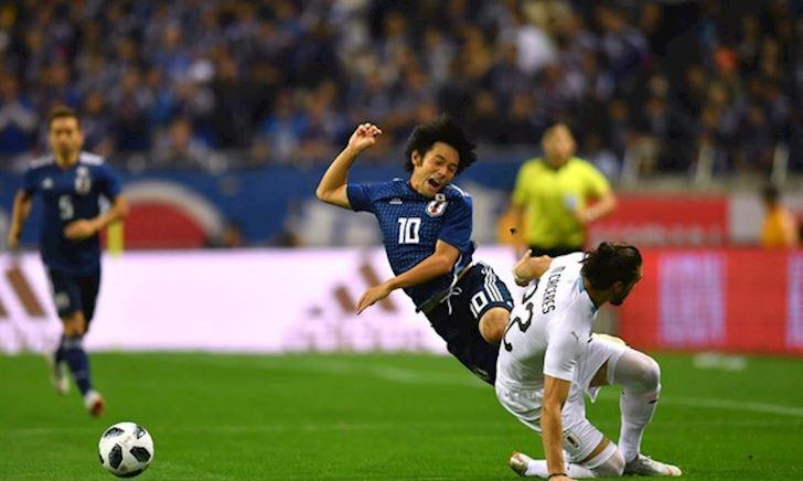 Lịch thi đấu bóng đá hôm nay 20/6: Nhật Bản chạm trán Uruguay