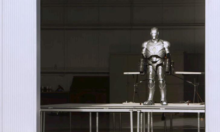 [VIDEO] Chiêm ngưỡng bộ đồ Iron Man đỉnh cao ngoài đời thực