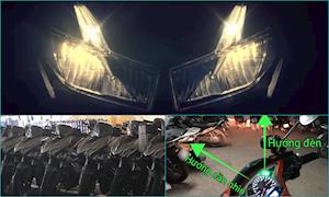 Đưa đèn pha xuống mặt nạ, Honda Winner X gặp nhiều bất lợi?
