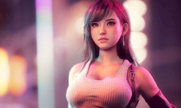 Bức xúc vì Tifa bị thu nhỏ ngực, game thủ tự thiết kế lại nhân vật đầy phồn thực