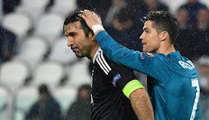 Buffon trở lại Juventus cùng Ronaldo đoạt Champions League