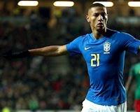 Sao Everton phải rời tuyển Brazil vì… quai bị