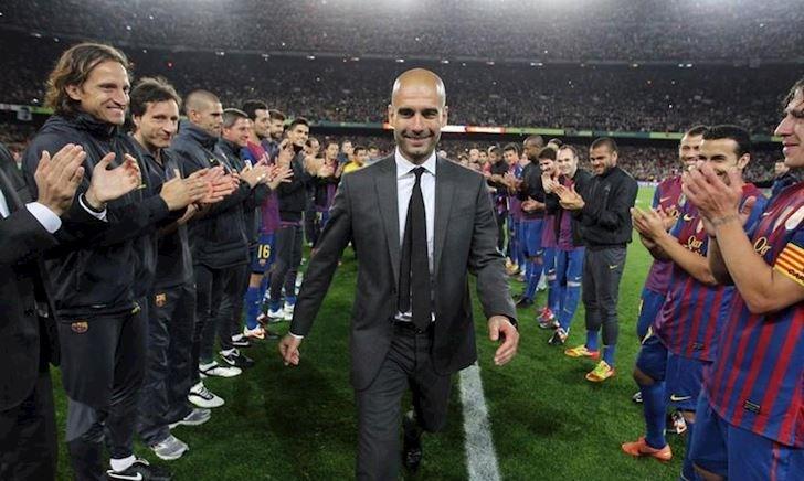 Pep Guardiola tuyên bố trở lại Barcelona