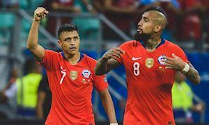Sanchez hóa người hùng, Chile chính thức vào bán kết Copa America