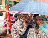 Hàng trăm cổ động viên xếp hàng chờ mua vé trận U23 Việt Nam đấu U23 Myanmar