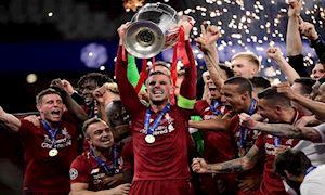 Vô địch C1, Liverpool vẫn bị UEFA xếp dưới á quân C2 Arsenal