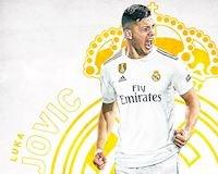 Đến Real, bom tấn Luka Jovic phá kỉ lục của Ronaldo