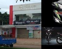 Đại lý Honda đã treo quảng cáo xác nhận sắp ra mắt Honda Winner X