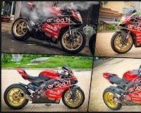 Biker Việt độ Ducati Panigale V4 phiên bản xe đua WSBK