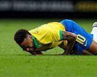 Video Clip: Cận cảnh chấn thương khiến Neymar mất Copa