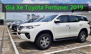 Bảng giá xe Toyota Fortuner lắp ráp trong nước 2019 mới nhất