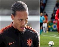 Van Dijk không thèm chấp Ronaldo ở chung kết Nations League