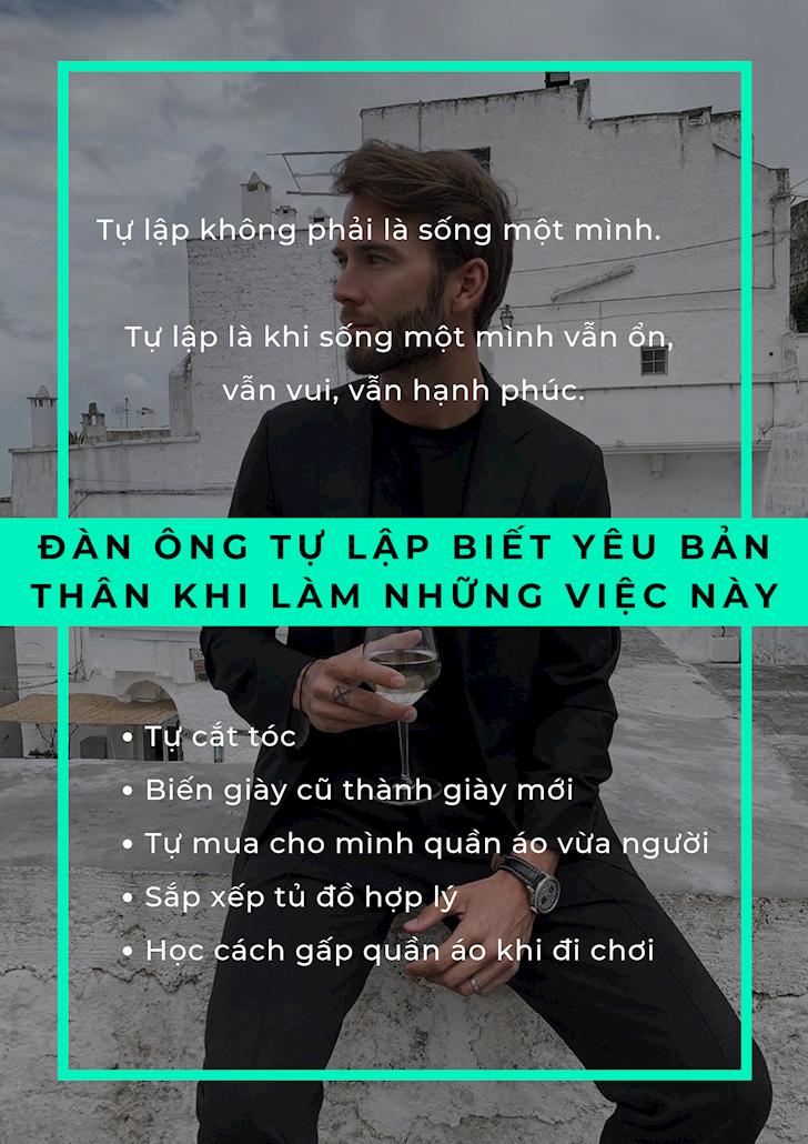 Nam gioi song Nam gioi hien dai nen yeu ban than truoc 3