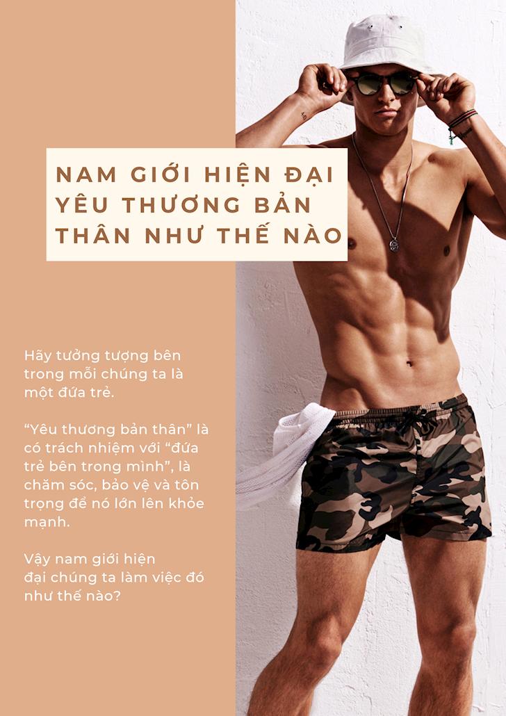 Nam gioi song Nam gioi hien dai nen yeu ban than truoc 6