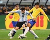 Kinh điển Brazil vs Argentina: Ở cửa dưới, Messi vẫn được kính nể