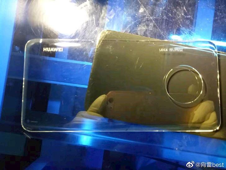 Lo hinh anh mat lung cua Huawei Mate 30 Pro tiep tuc di truoc Apple mot buoc