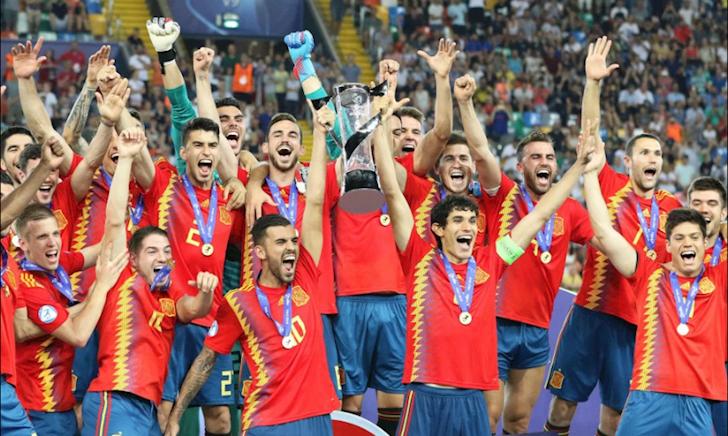 Kết quả bóng đá hôm qua ngày 30/6: U21 Tây Ban Nha vô địch châu Âu