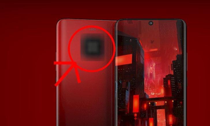 Lộ hình ảnh mặt lưng của Huawei Mate 30 Pro, tiếp tục đi trước Apple một bước