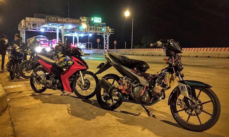Câu chuyện cho thuê Exciter độ để bào tour của biker Việt