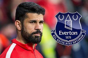 Everton gây sốc, sắp nổ 'bom tấn' Diego Costa