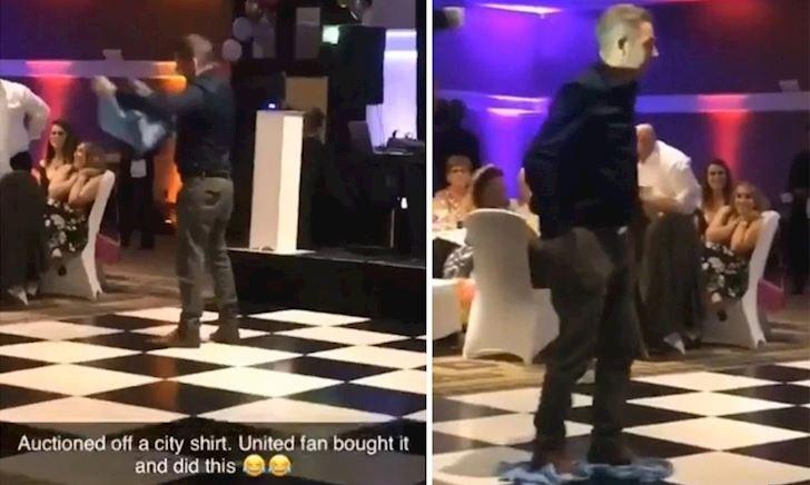 Video Clip: Fan cuồng MU bỏ 200 bảng mua áo Aguero để... lau nhà