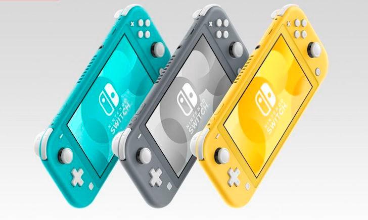 Nintendo Switch Lite 'chào đời' với nhiều màu sắc, lên kệ vào tháng 9, giá 200 USD