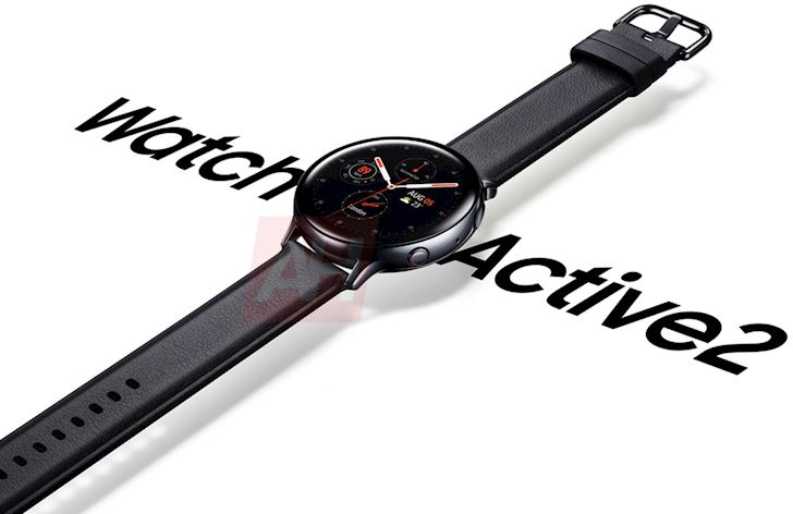Hinh anh render chinh thuc Galaxy Watch Active 2 lo dien 1