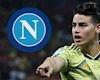 Vì James Rodriguez, Napoli tống cổ 6 cầu thủ ra đường
