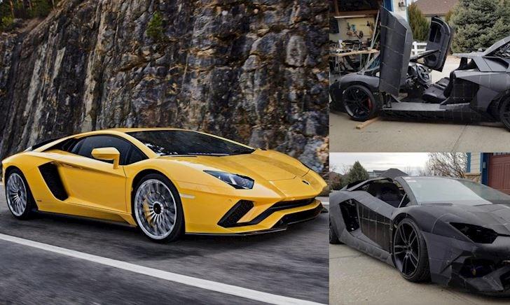 Chỉ 400 triệu đồng, ông bố dùng công nghệ in 3D làm xe Aventador S 40 tỷ tặng con trai