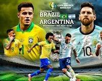 Lịch sử đối đầu Brazil vs Argentina: Selecao át vía Messi