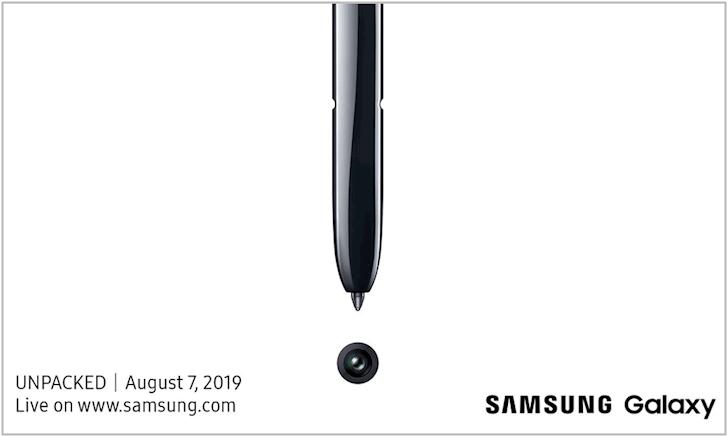 Ngày ra mắt Samsung Galaxy Note 10 được ấn định, thư mời có gì hot?
