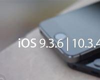 Cập nhật iOS 9.3.6, iOS 10.3.4, tin vui cho người dùng iPhone và iPad cũ