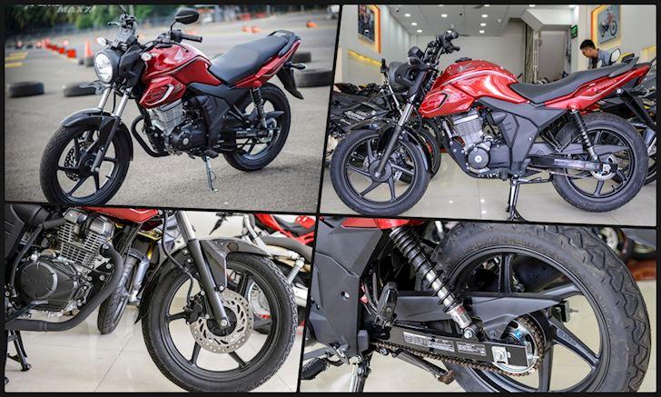 Honda CB150 Verza xe di phuot gia re anh 1