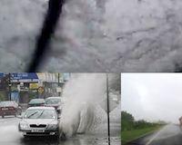 Xử lý khi lái xe trời mưa bị xe khác tạt nước mù kính lái - Lái xe phòng thủ #5